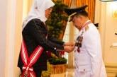 Mendagri Tito Karnavian Terima Penghargaan 'The Distinguished Service Order' dari Presiden Singapura