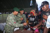 TNI Gelar Pasar Murah di Papua