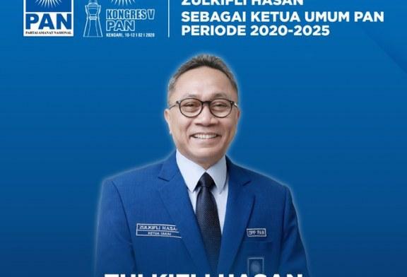 Sempat Diwarnai Kericuhan, Kongres V PAN Hasilkan Zulkifli Hasan Sebagai Ketum