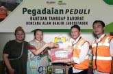 Pegadaian Bantu Sembako dan Perangkat Evakuasi Korban Banjir Jakarta