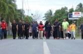 Olahraga Bersama Masyarakat di Natuna, Pasca Evakuasi 238 WNI dari Wuhan