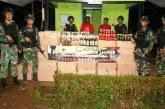 Kostrad Amankan 5.076 Botol Miras Ilegal di Jalan Trans Papua