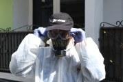 FOTO Penyemprotan Disinfektan di Masjid