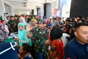 FOTO Panglima TNI Tinjau Bakti Sosial Kesehatan di Pulau Galang