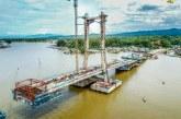 Jembatan Teluk Kendari Dukung Pengembangan Pelabuhan New Port Bungkutoko