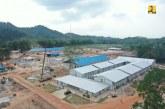 Progres Konstruksi Fasilitas Karantina Penyakit Menular di Pulau Galang Sudah 92%