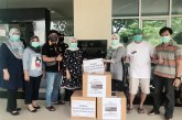 Cegah Covid-19, ACB Salurkan Perlengkapan Kesehatan di Banten