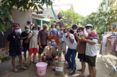 FOTO dan Video Aksi Warga RT 04/RW 14 BSP Bekasi Melawan Corona