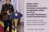 Warganet Doakan Jokowi Diberi Kesabaran Hadapi Wabah Covid-19