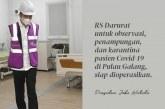Jokowi Selalu Berharap Fasilitas Karantina Penyakit Menular di Pulau Galang Tak Dipakai