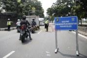FOTO Hari Pertama PSBB di Jakarta