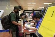 FOTO Calon Penumpang Antre di Terminal 2 Bandara Soekarno-Hatta