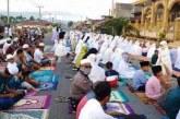 Sholat Idul Fitri di Padangsidimpuan Tetap Ramai di Tengah Pandemi Covid-19