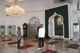 Persiapan Menuju ke Tatanan Normal Baru, Jokowi Mengecek Masjid Baiturrahim