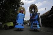 FOTO Kampung Ondel-ondel Kramat Pulo