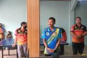 FOTO Komunitas Tenis Meja Ping TV Robek Gelar Halalbihalal di GOR Antilop
