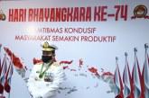 Kepala Bakamla RI Ikuti Peringatan HUT ke-74 Bhayangkara Secara Virtual