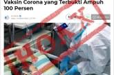 Perlu Dicatat! Hoaks Covid-19 Bisa Sebabkan Kematian