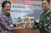 Kepala BPN Serahkan 9 Sertipikat Hak Pakai TNI AD