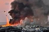 Ledakan Beirut Terasa Hingga 240 Km, Ribuan Berlumur Darah, Ada WNI Luka