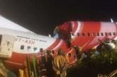 Ngeri! Kecelakaan Pesawat India Terbelah Jadi Dua, 17 Tewas
