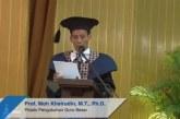 Khairudin Mantan Marbot Masjid yang Jadi Profesor