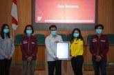 Selamat! Formasi Pelita Gadjah Mada PPSMB UGM 2020 Raih Rekor MURI