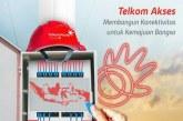 Wah…Hebat! Jalur Fiber Optik yang Dibangun Telkom Akses Telah Jangkau Seluruh Pelosok Negeri