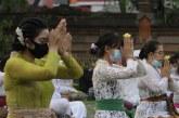 FOTO Perayaan Hari Raya Galungan di Tangerang