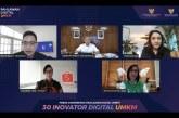 30 Inovator Muda Lolos Ikuti Bootcamp Pahlawan Digital UMKM