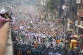 40.000 Massa Aksi Demo Sebut Presiden Macron Pemuja Setan