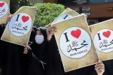 Non Muslim di Iran Kecam Macron yang Hina Nabi Muhammad