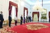 Jokowi Terima Surat Kepercayaan dari 7 Duta Besar LBBP