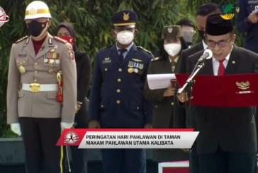 Di TMP Kalibata Menag Berdoa Agar Indonesia Mampu Atasi Covid-19