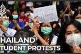Ribuan Siswa Turun ke Jalan Protes Sistem Pendidikan Thailand