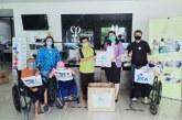 Pengda Kappija DKI Serahkan Bantuan Pencegahan Covid-19 dari JICA kepada YPAC Jakarta