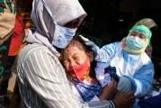 FOTO Imunisasi di SDN 01 Tangerang