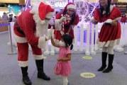FOTO Sinterklas Hadir di Summarecon Mall Serpong