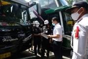 FOTO Cek Kelayakan Armada Bus di Terminal Poris Plawad
