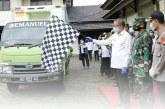 Gubernur Kalbar Melepas Distribusi Vaksin Covid-19