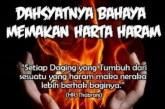 Bahaya Memakan Harta Haram!