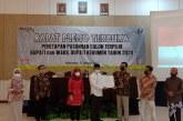 Sah! KPU Tetapkan Arif Sugiyanto sebagai Bupati Kebumen Terpilih