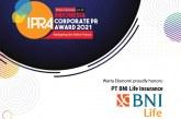 BNI Life Raih Penghargaan di Ajang IPRA 2021