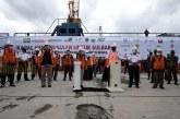 FOTO ACT Berangkatkan Kapal Kemanusiaan untuk Korban Gempa Sulbar