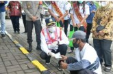 Menhub Tinjau Program Padat Karya di Pelabuhan Tanjung Priok