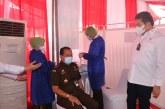 Jaksa Agung RI Buka Kegiatan Vaksinasi Covid-19 Untuk Seluruh Pegawai Kejagung