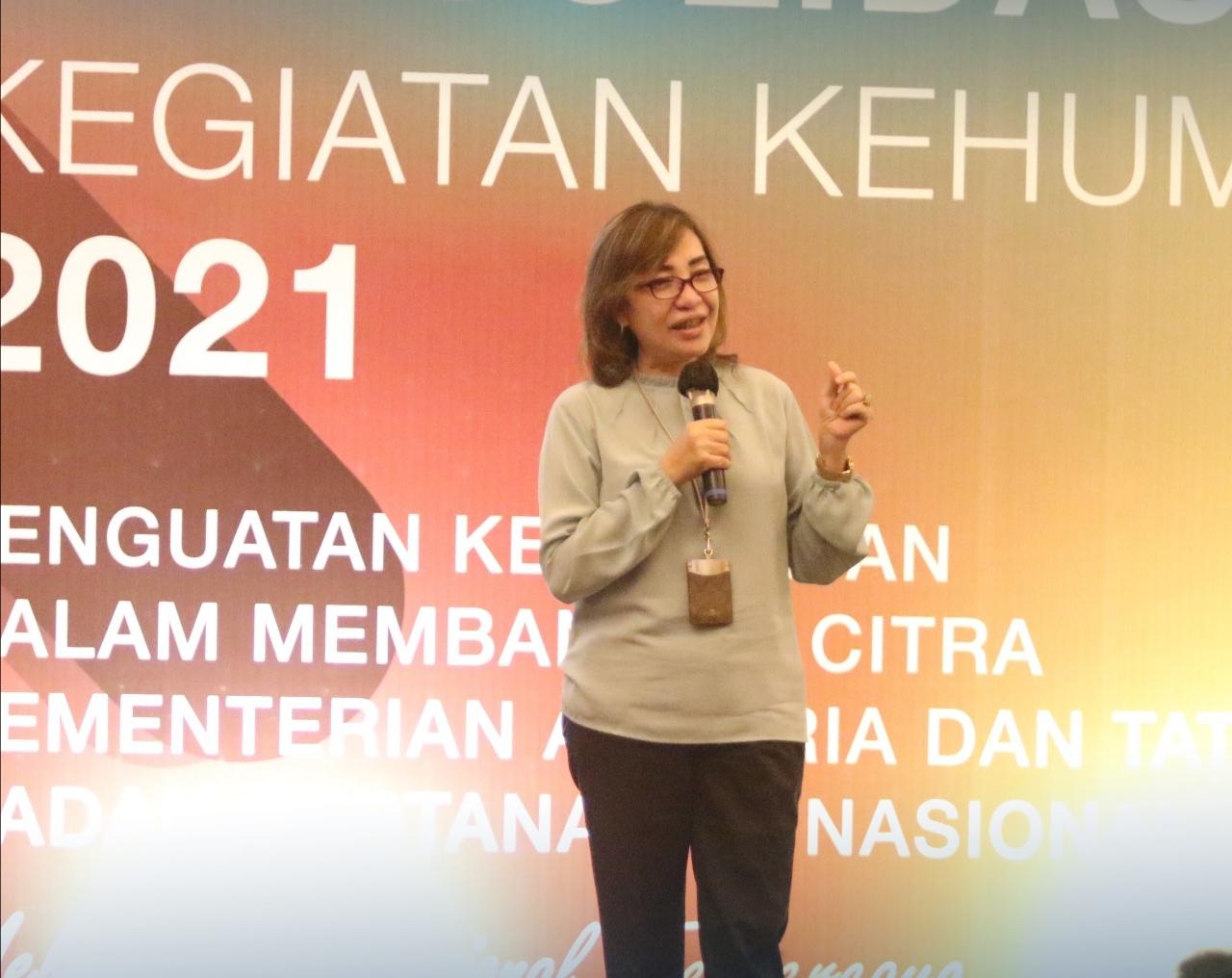 Yulia JN: Peran Kehumasan Dalam Mendukung Program Strategis Kementerian ATR/BPN