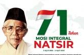 71 Tahun Mosi Integral: Mengenang Perjuangan M. Natsir