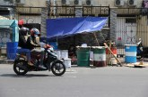 FOTO Pedagang Beduk Ramai Jelang Hari Raya Idulfitri di Pasar Tanah Abang