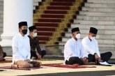 Jokowi Bercerita tentang Salat Idulfitri 1442 di Kompleks Istana Kepresidenan Bogor